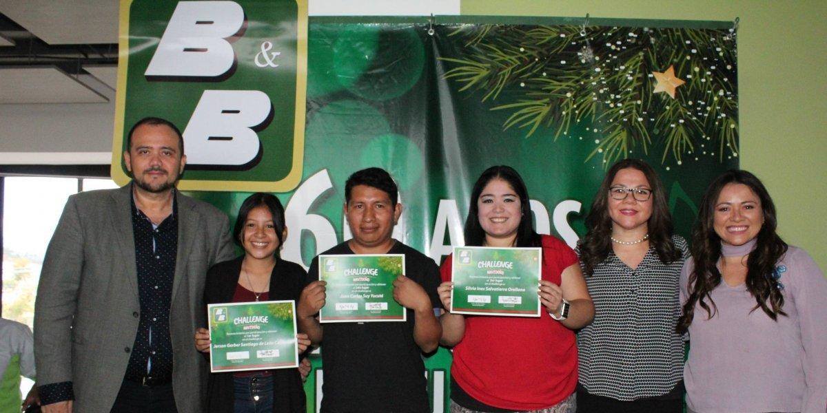 Familias guatemaltecas se unieron en el divertido challenge de B&B