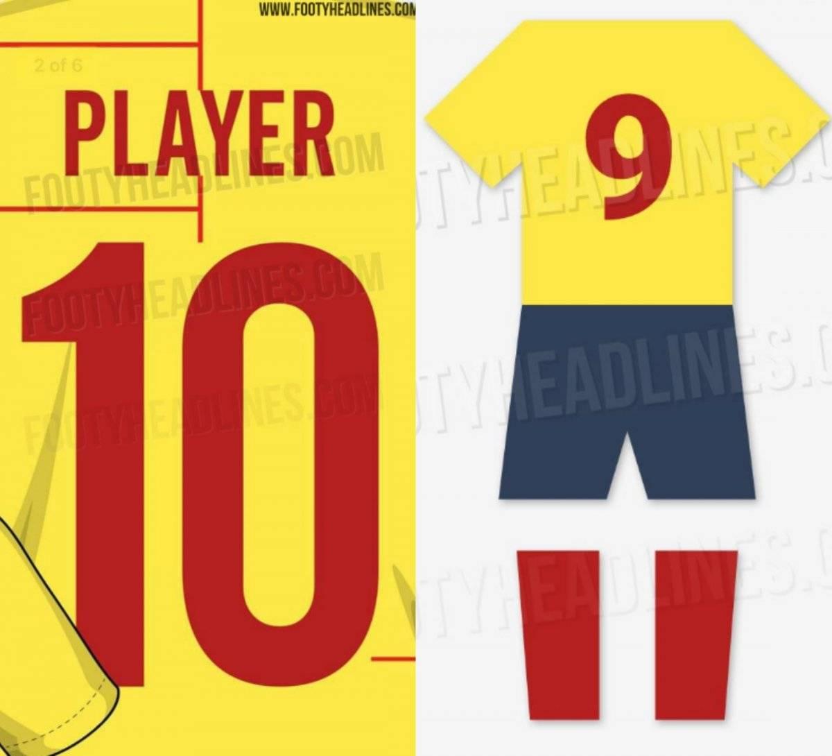 Camiseta de Colombia para 2019