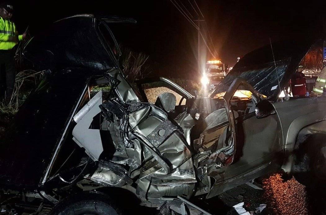 Accidente en Ibarra Twitter BOMBEROS DE IBARRA