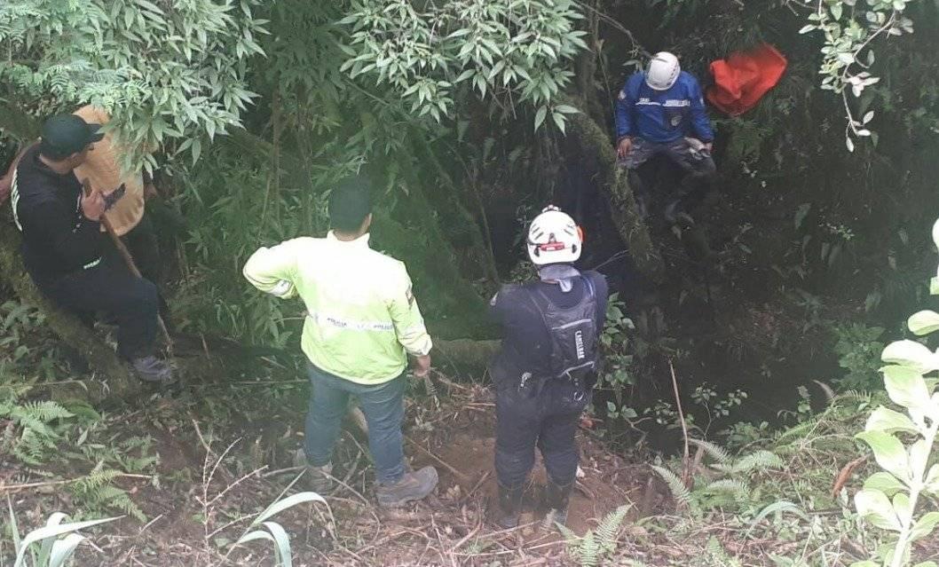 Hallan cuerpo de Héctor Córdova en una quebrada de Píntag Policía Nacional