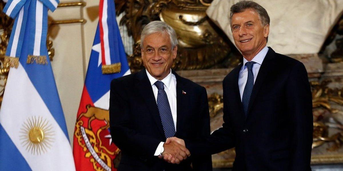 Chile y Argentina eliminarán el
