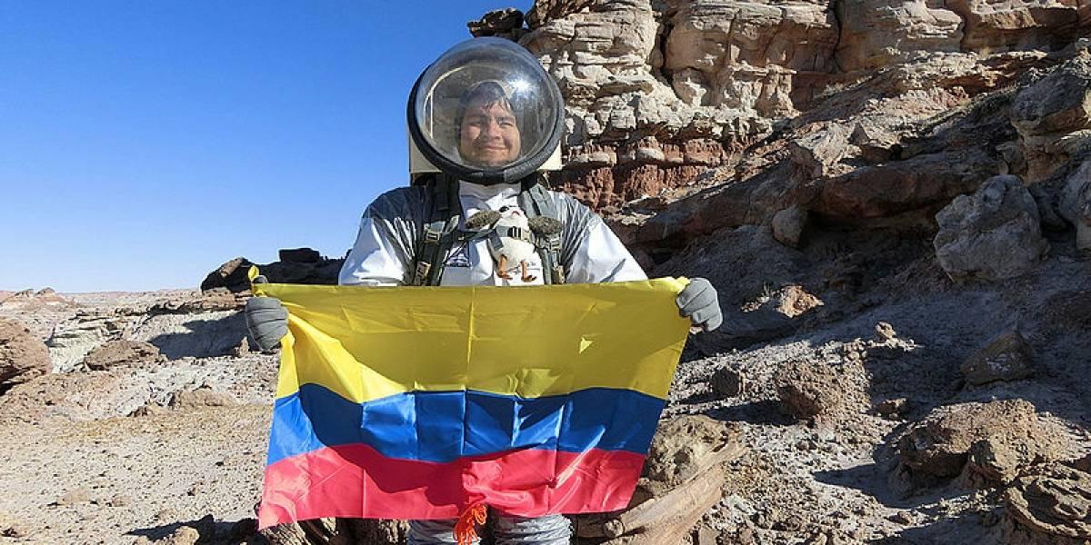 La misión colombiana que estudiará Marte en un ambiente simulado