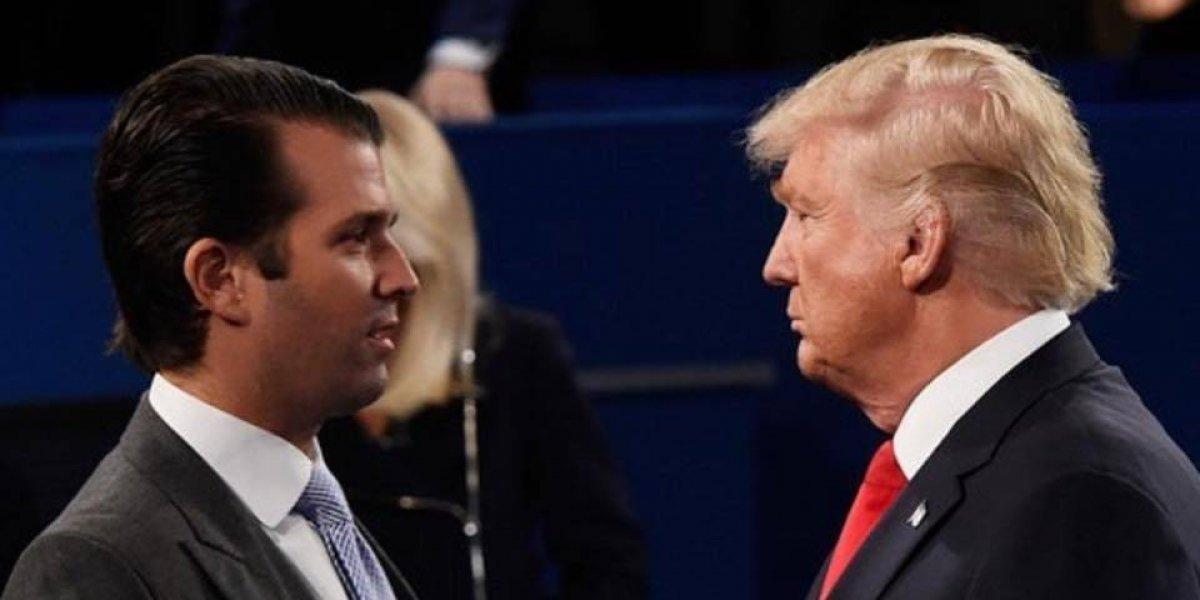 Hijo de Trump compara a migrantes con animales de zoológico