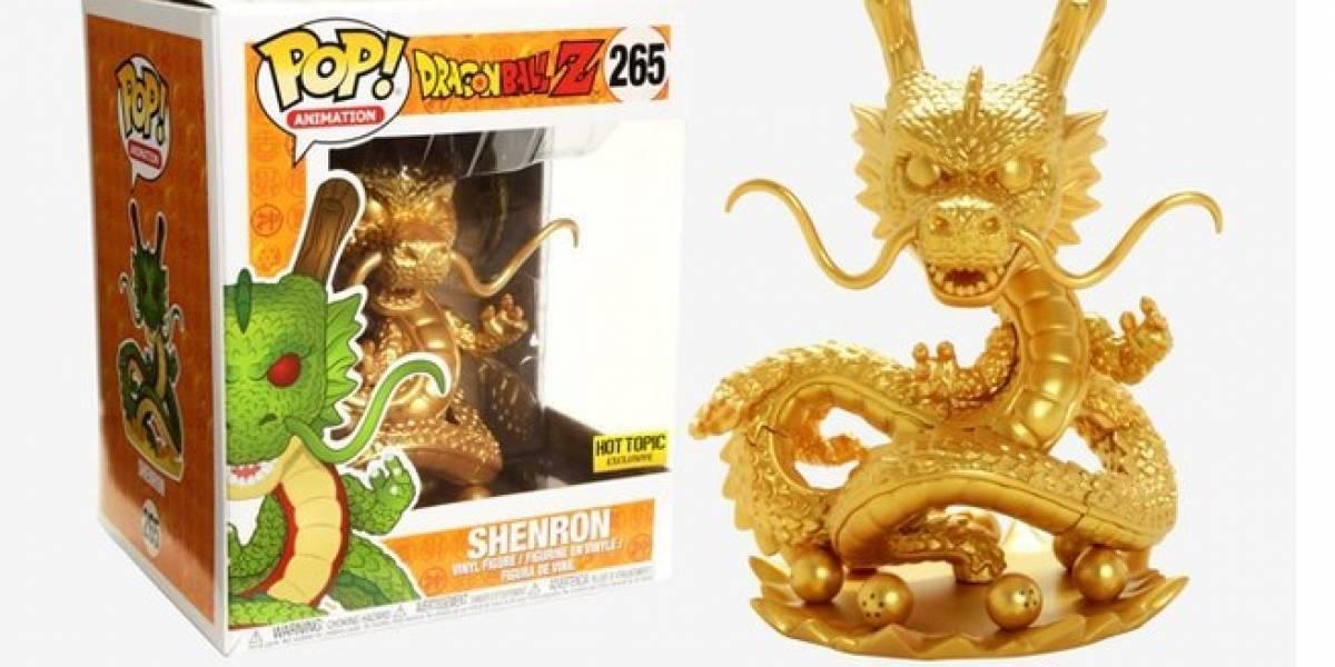Dragon Ball: ¡La figura  Funko Pop dorada de Shenron está de vuelta!