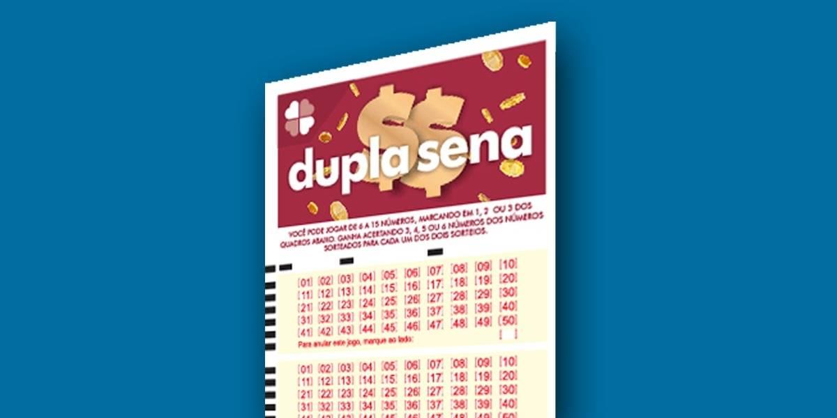 Dupla Sena 2091: veja números sorteados neste sábado, 13 de junho