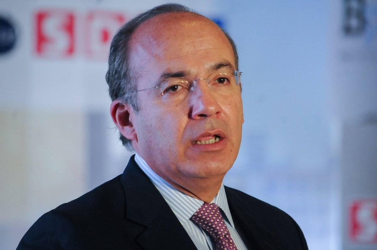 Felipe Calderón, ex presidente de México. Foto: Cuartoscuro