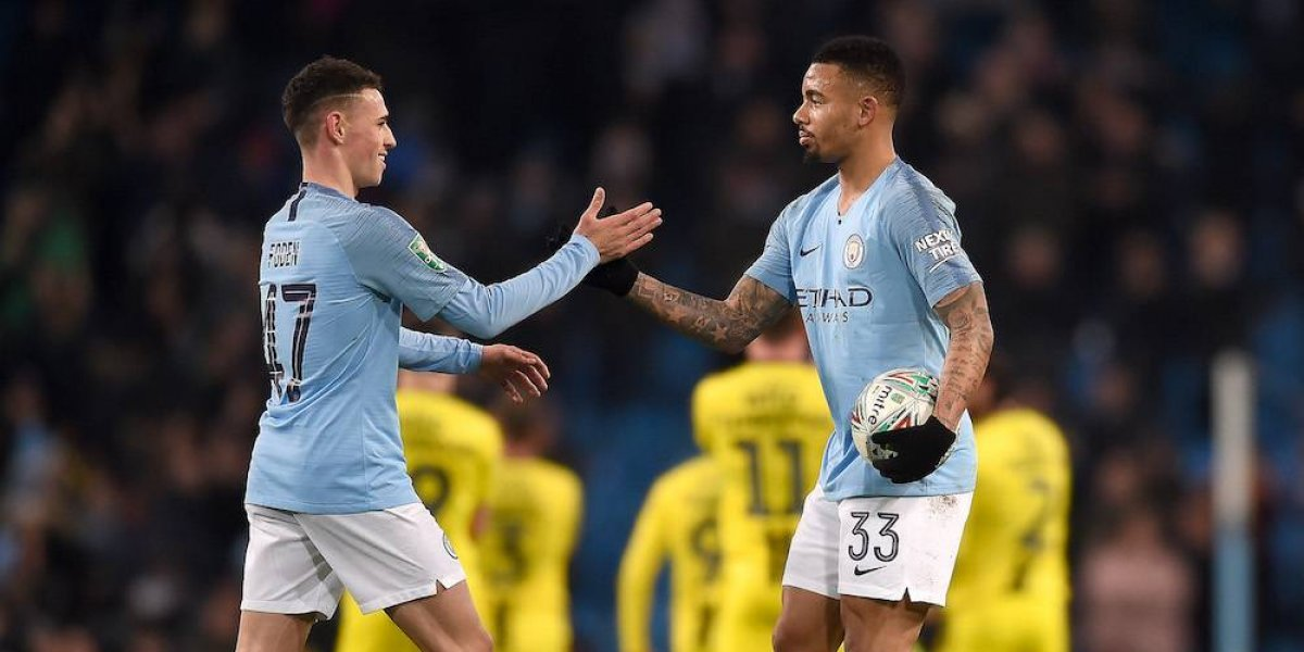 Manchester City aplasta 9-0 al Burton en la Copa de la Liga
