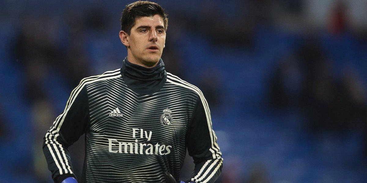 Otra lesión en el Madrid: Courtois, a la enfermería
