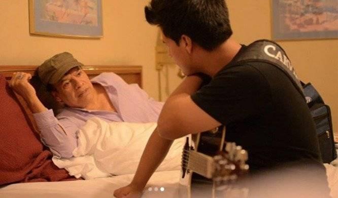 Juan Gabriel y su hijo Instagram