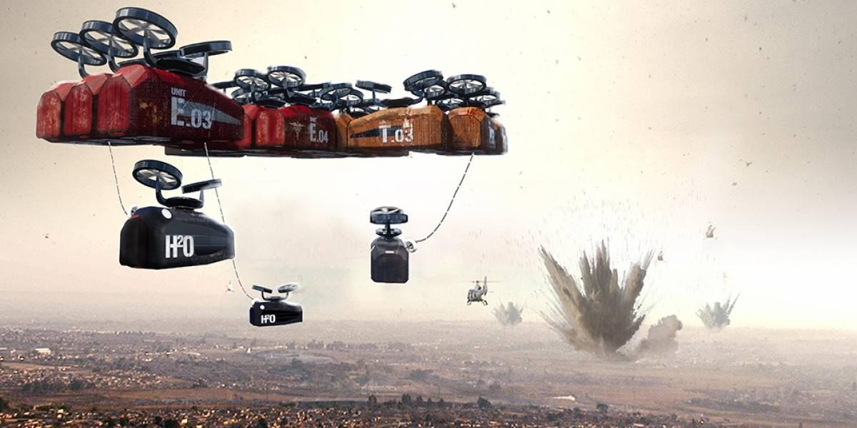 Plantean hospital volador para ayudar en zonas de desastre y conflicto