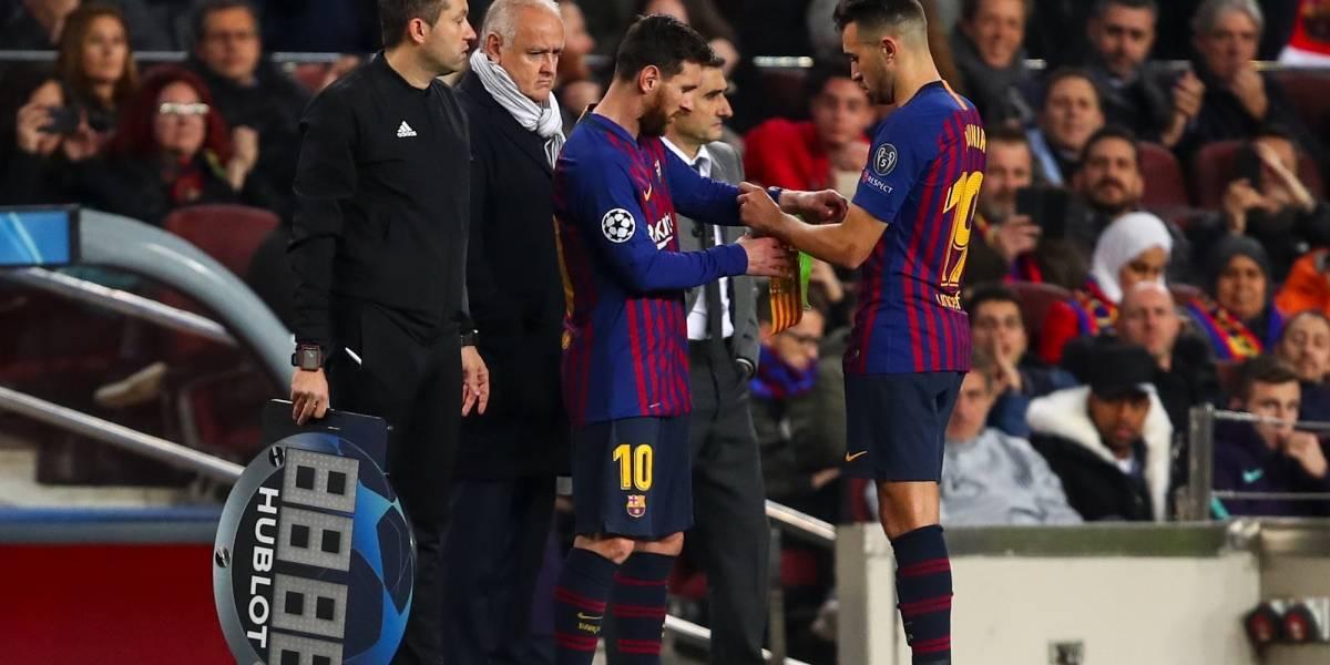 Jugador queda fuera del Barcelona por no firmar renovación de contrato