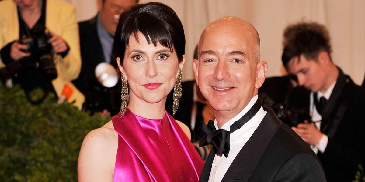 Jeff Bezos anunció su divorcio por Twitter después de 25 años de casado