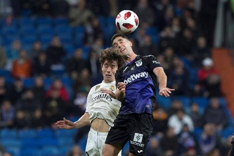 El Real Madrid terminó goleando en la Copa del Rey, a su verdugo de la edición anterior. EFE