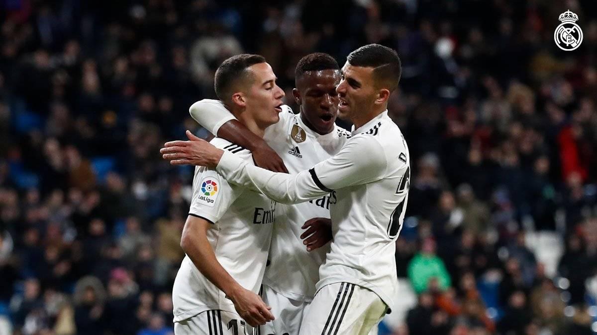 El equipo merengue solventó con contundencia el encuentro ante el Leganés. Real Madrid