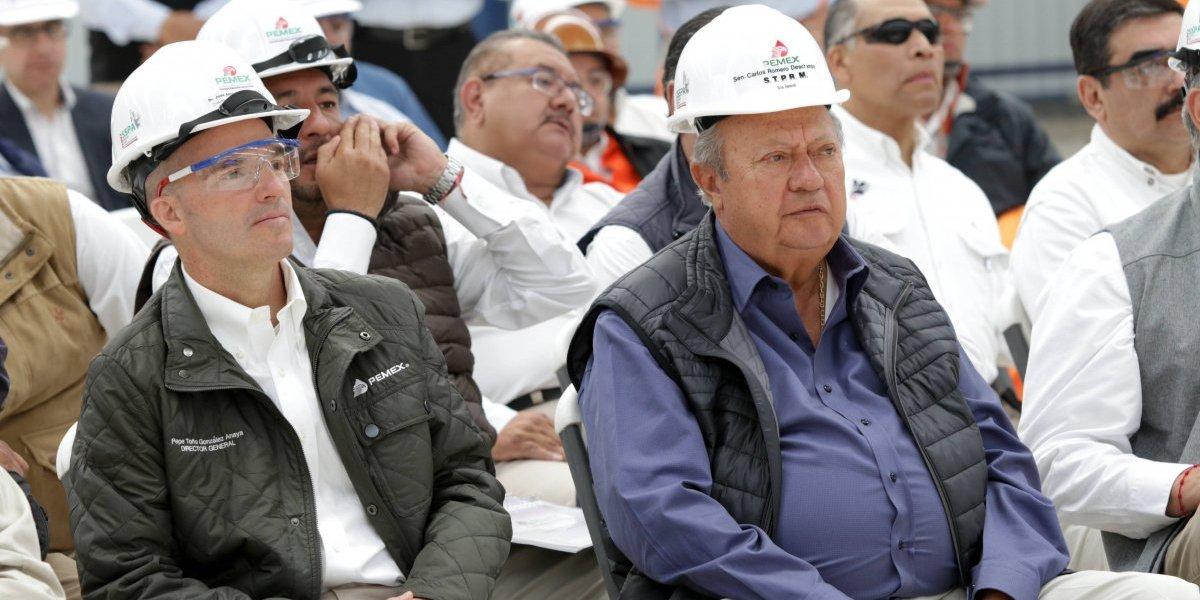 Romero Deschamps apoya lucha de AMLO contra la corrupción en Pemex