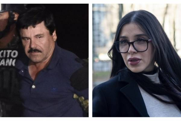 Joaquín Guzmán y Emma Coronel