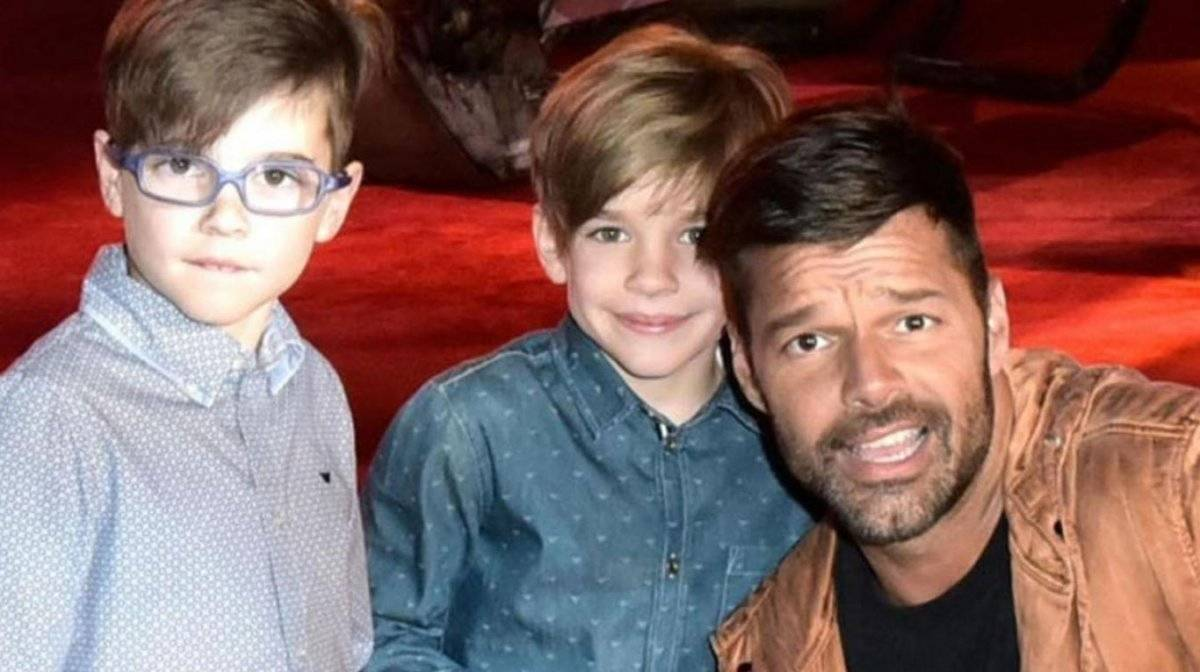 hijos de Ricky Martin
