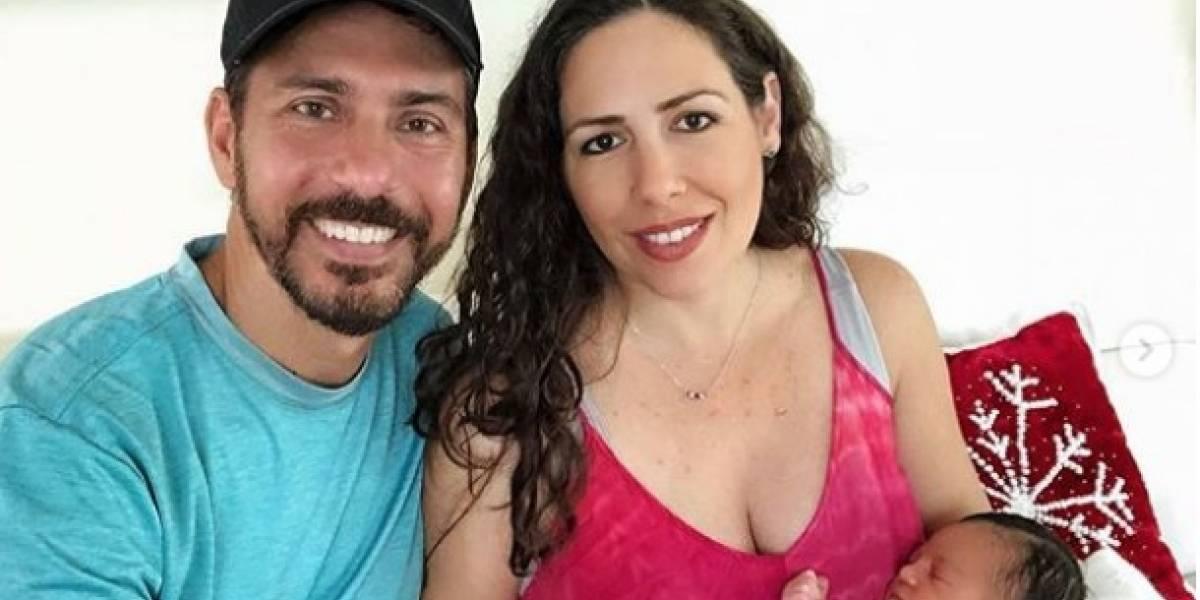 Alfonsina Molinari presenta a su segunda hija