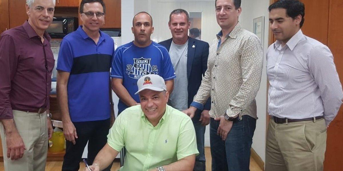 Indios de Mayagüez presentan a su nuevo dirigente