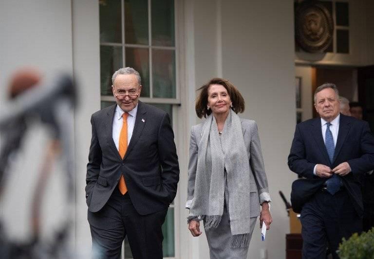 Chuck Schumer y Nancy Pelosi