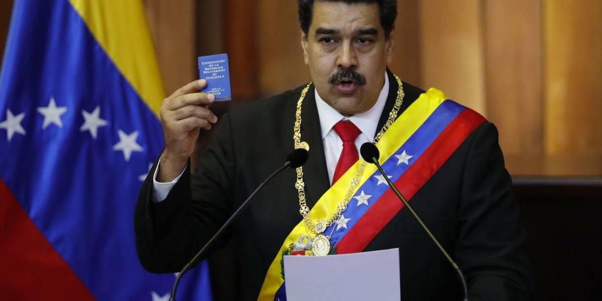 "Maduro grita ""Viva México"" durante su segunda investidura en Venezuela"