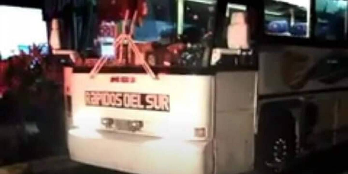 Disparan contra bus en Petén