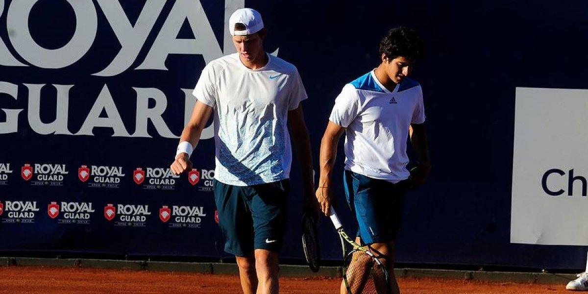 Christian Garin entrenó con Andre Agassi de cara al Abierto de Australia