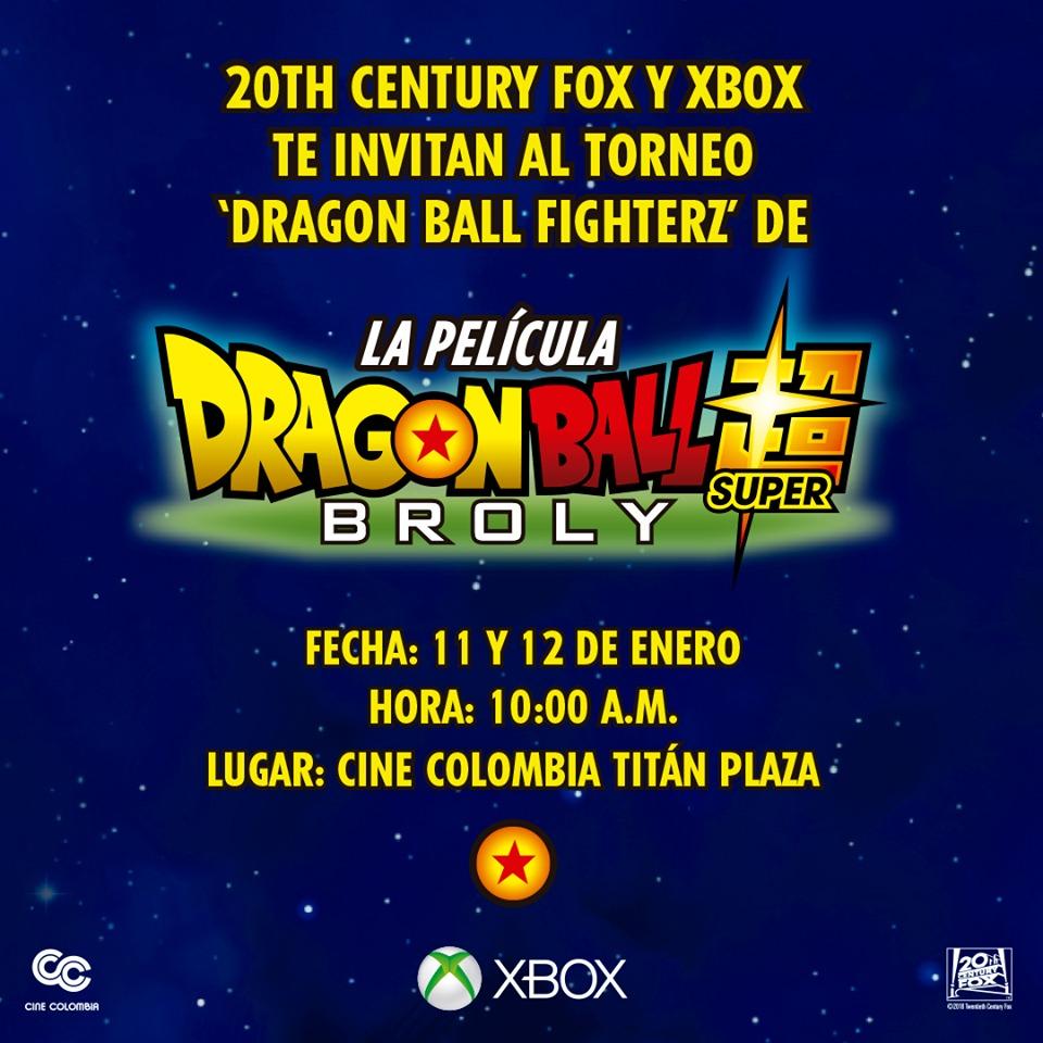 ¿Eres colombiano y quieres ver gratis Dragon Ball Super: Broly? Participa en este torneo de Xbox para ganarte esa oportunidad