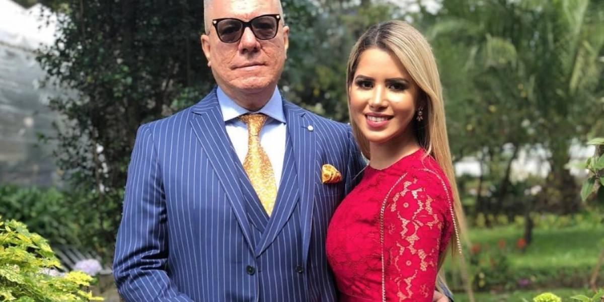 Rosibel Zambrano, esposa de Vito Muñoz, habló de su embarazo
