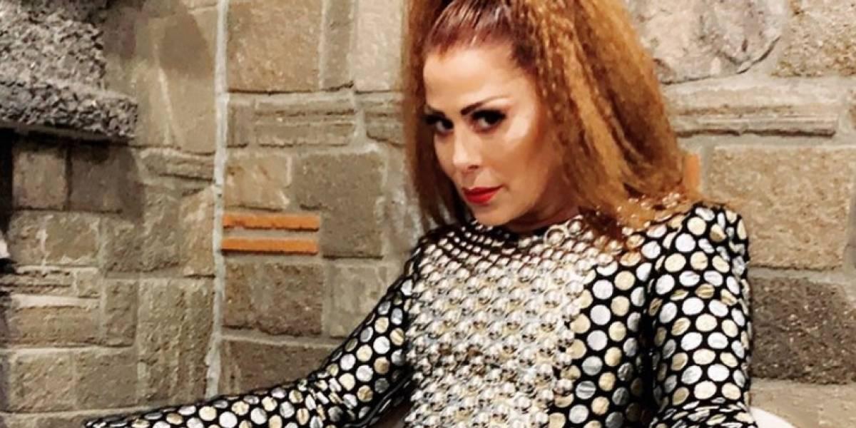 La foto del rostro de Alejandra Guzmán que generó controversia