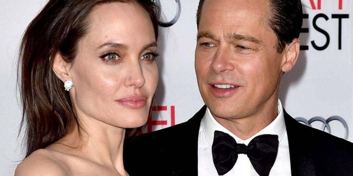 Estas fotos de Brad Pitt y Angelina Jolie desatan rumores de reconciliación