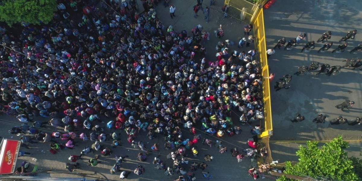 México enviará agentes a frontera con Guatemala