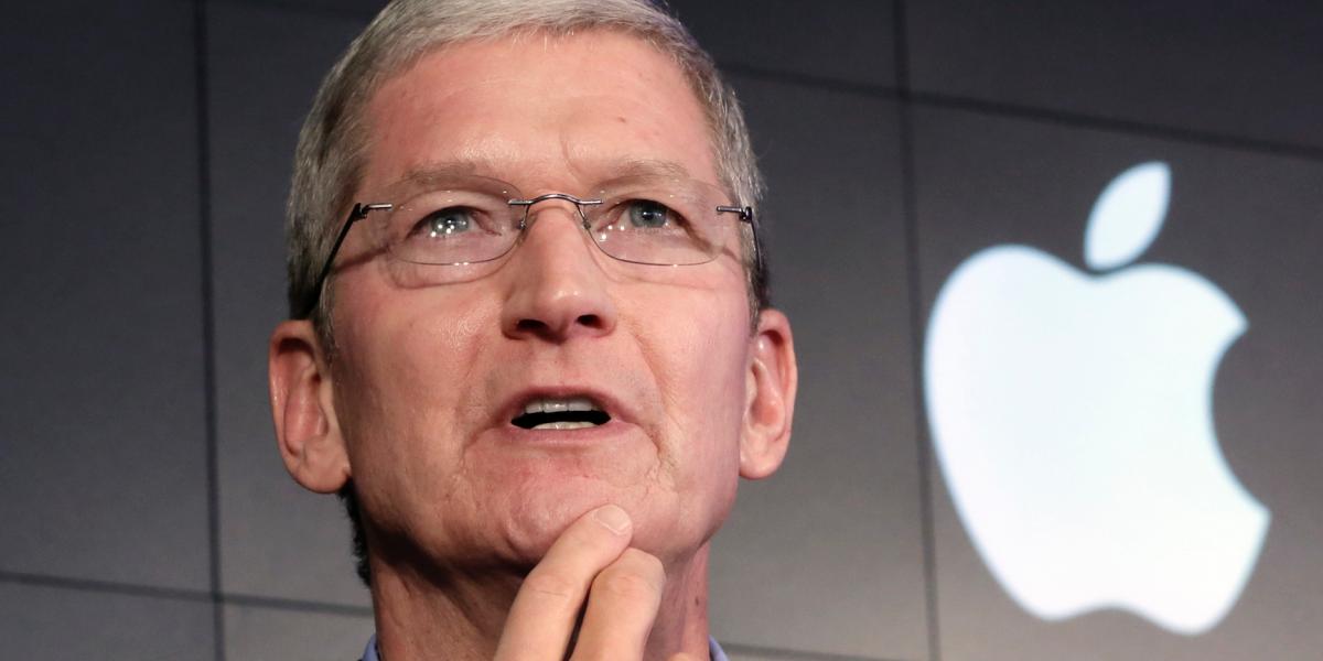 El CEO de Apple admite que el futuro de la compañía está en contribuir a la salud