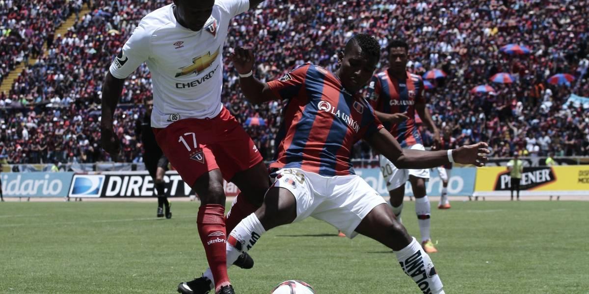 Se confirma que Liga de Quito jugará un partido contra Deportivo Quito