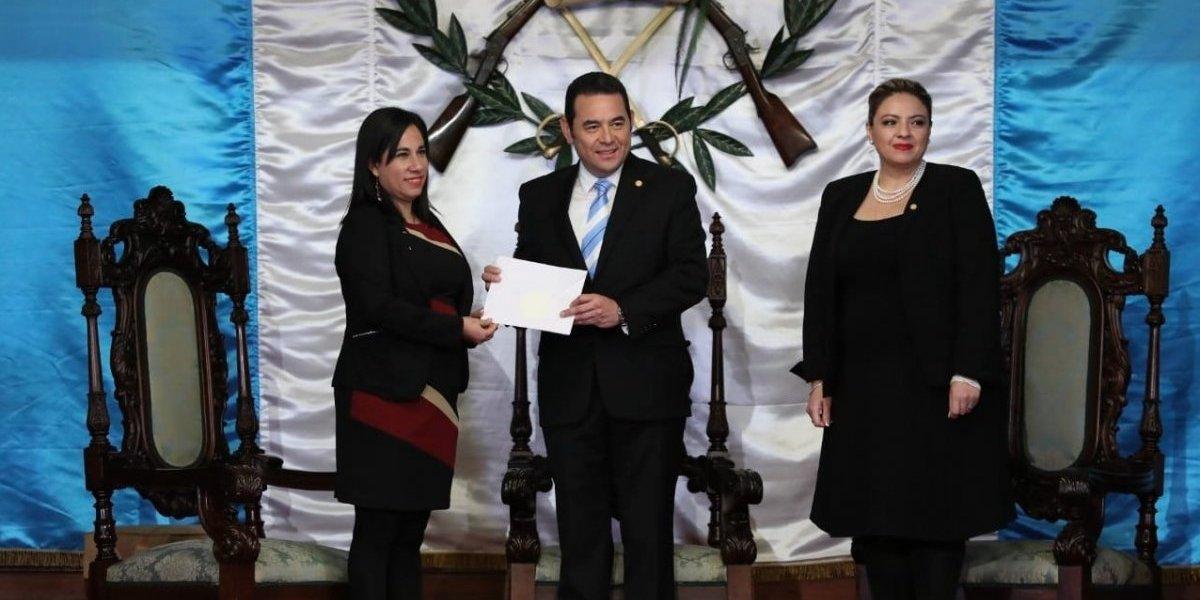 Ocho embajadores presentan cartas credenciales a presidente Jimmy Morales