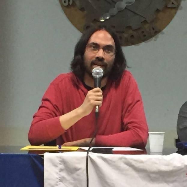 Ricardo Vaz, analista político en Venezuelanalysis