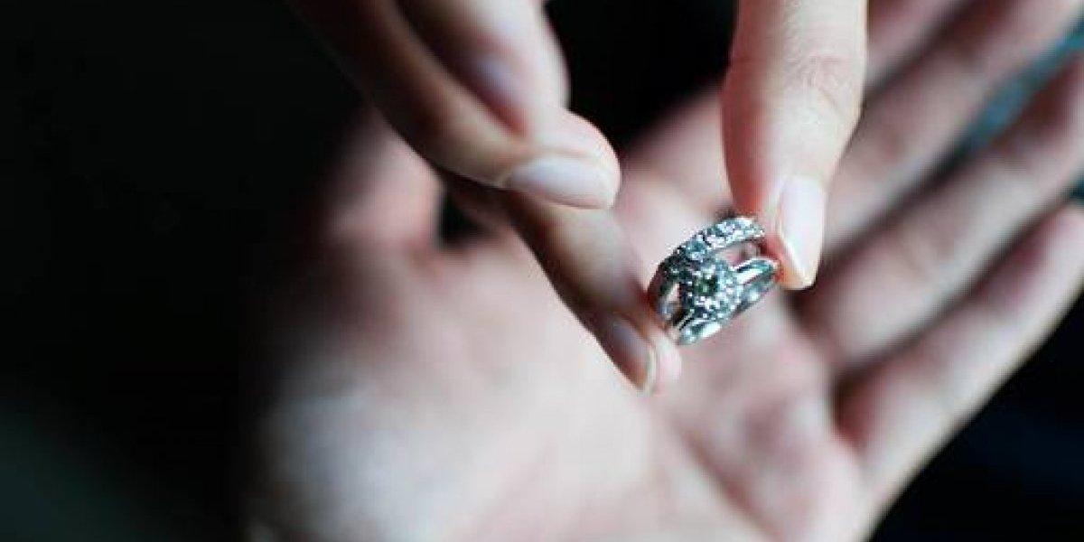 Increible: una pareja se divorció tres minutos después de casarse
