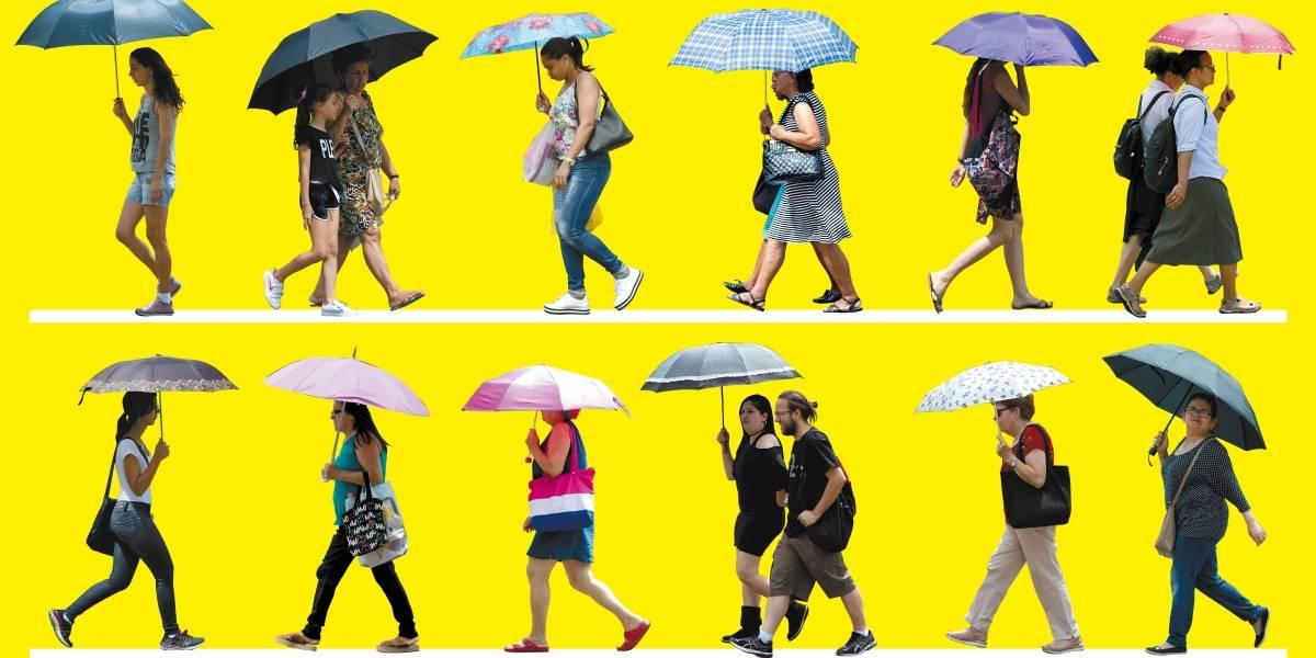 Dia das Mães começa com sol tímido e chuva deve chegar à tarde