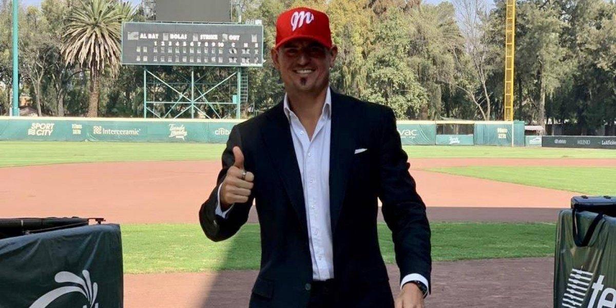 Jorge Cantú espera ganar el título con Diablos Rojos del México