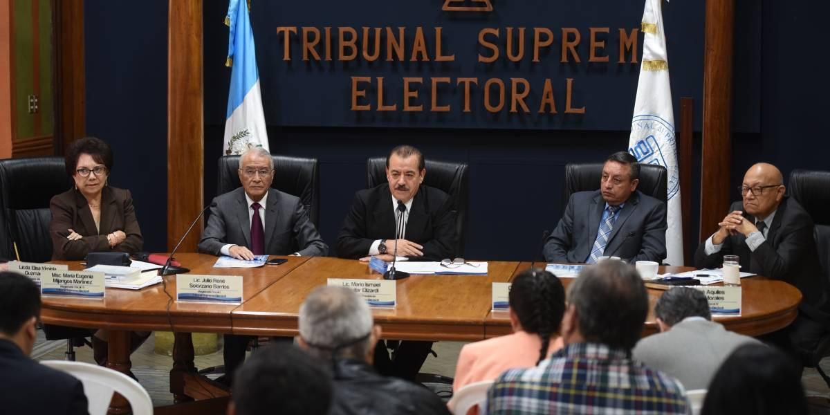 TSE ratifica, ante la coyuntura, su independencia en proceso electoral
