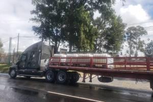 material tóxico cae en Km. 19 ruta al Pacífico