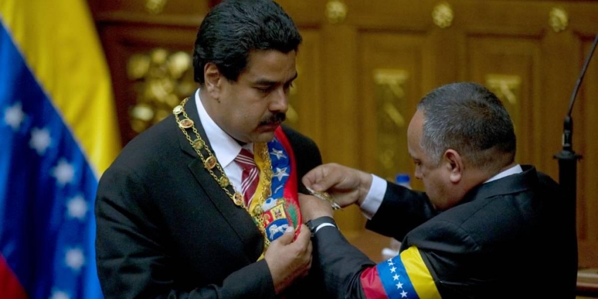 """Toma de posesión: """"Venezuela es el centro de una guerra mundial"""""""