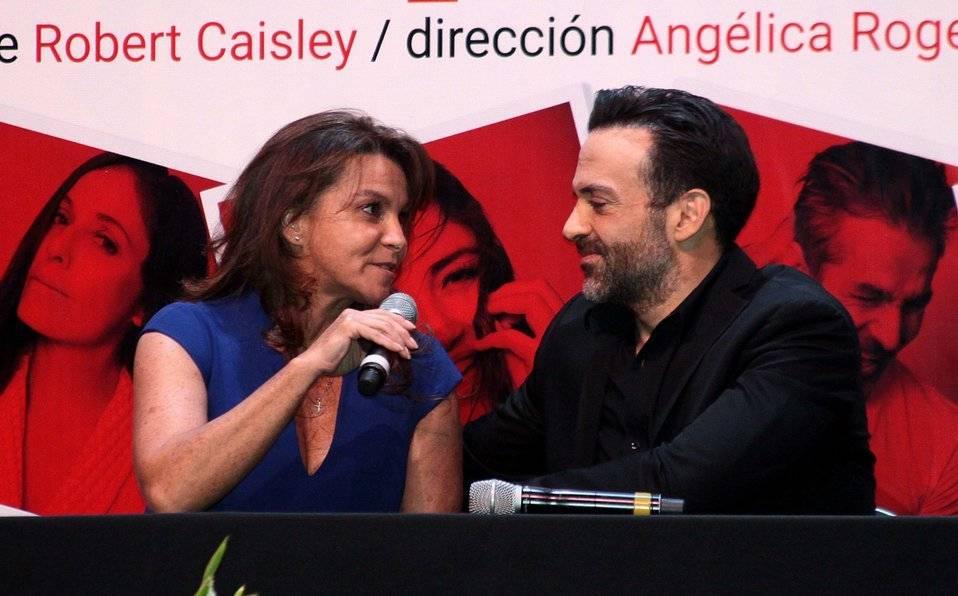 Pablo Perroni y Mariana Garza