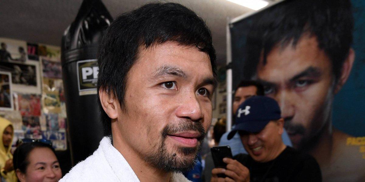 Manny Pacquiao concentrado en Broner; descarta pelea con Floyd Mayweather