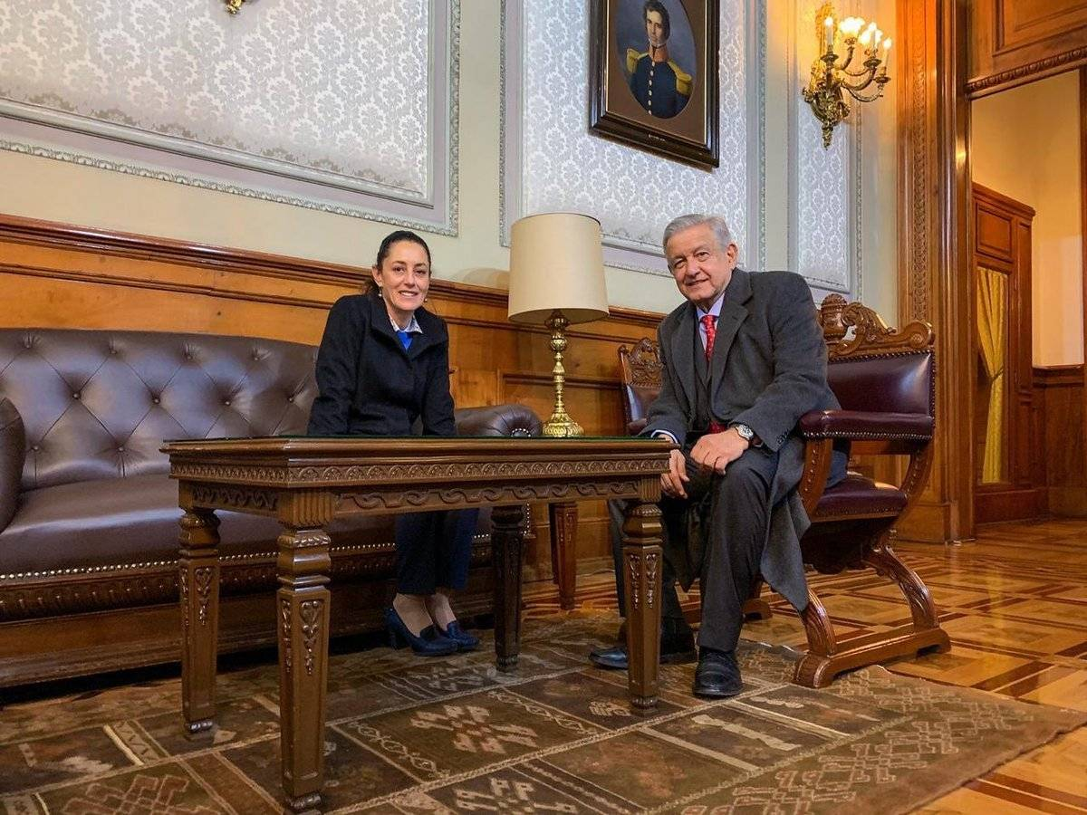 También la Jefa de Gobierno se reunió con el Presidente.