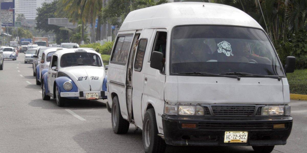 Alza al pasaje en Acapulco era necesario por gasolinazos: CTT