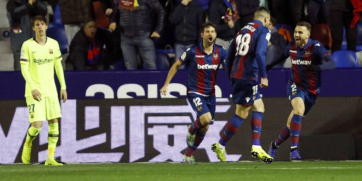 El Levante le da un disgusto al Barcelona en la Copa del Rey