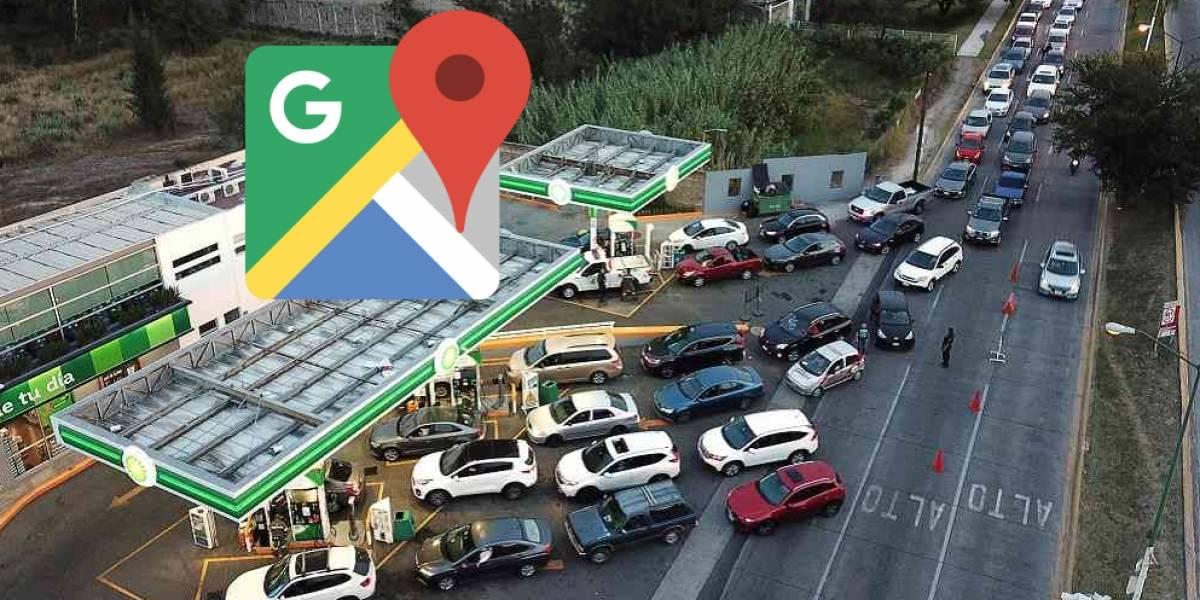 Google Maps presenta función para ayudar en el desabasto de gasolina en México