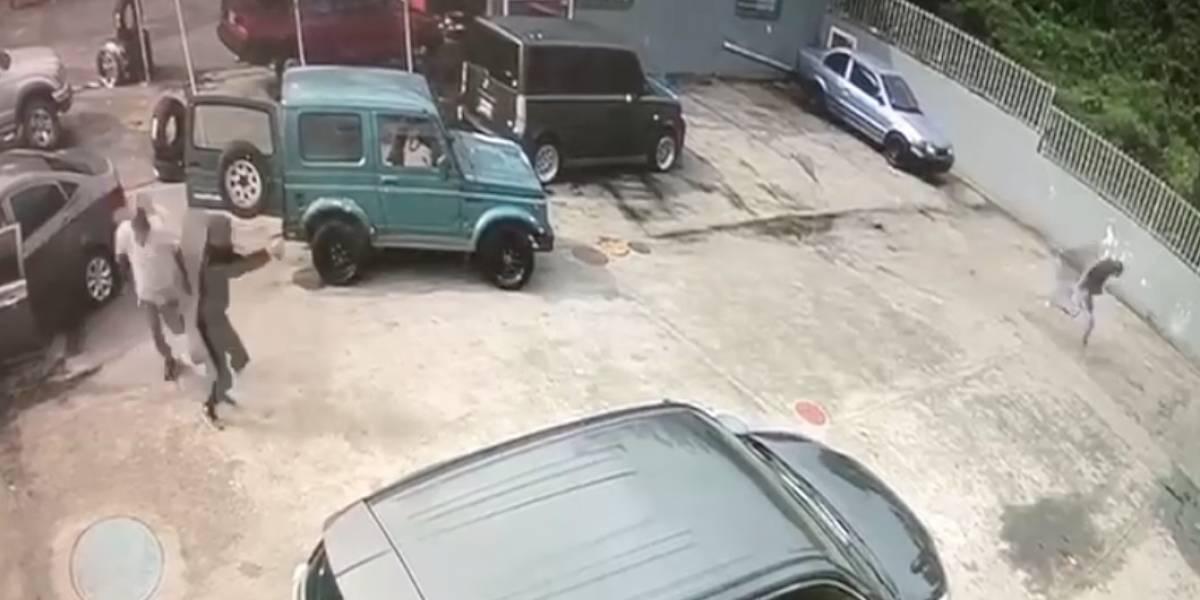 Filtran video de otro tiroteo en San Lorenzo
