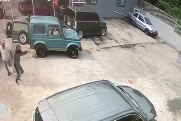 Video de tiroteo en San Lorenzo